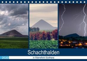 Schachtanlagen in Mansfeld Südharz (Tischkalender 2020 DIN A5 quer) von Gierok,  Steffen