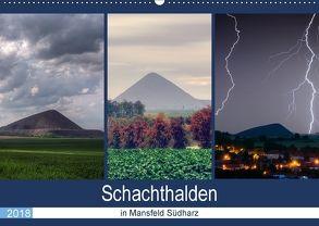 Schachtanlagen in Mansfeld Südharz (Wandkalender 2018 DIN A2 quer) von Gierok,  Steffen