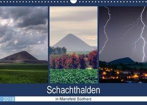 Schachtanlagen in Mansfeld Südharz (Wandkalender 2018 DIN A3 quer) von Gierok,  Steffen