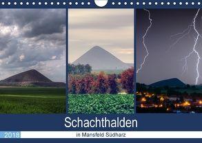 Schachtanlagen in Mansfeld Südharz (Wandkalender 2018 DIN A4 quer) von Gierok,  Steffen