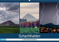 Schachtanlagen in Mansfeld Südharz (Wandkalender 2019 DIN A2 quer) von Gierok,  Steffen