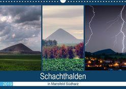 Schachtanlagen in Mansfeld Südharz (Wandkalender 2019 DIN A3 quer) von Gierok,  Steffen