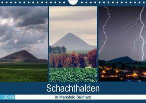 Schachtanlagen in Mansfeld Südharz (Wandkalender 2019 DIN A4 quer) von Gierok,  Steffen