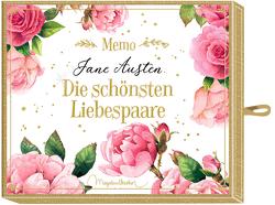 Schachtelspiel – Memo – Jane Austen – Die schönsten Liebespaare von Bastin,  Marjolein