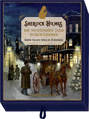 Schachtelspiel – Sherlock Holmes – Die mysteriöse Jagd durch London von Barbara Behr, Kai Haferkamp
