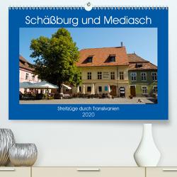 Schäßburg und Mediasch – Streifzüge durch Transilvanien (Premium, hochwertiger DIN A2 Wandkalender 2020, Kunstdruck in Hochglanz) von Hegerfeld-Reckert,  Anneli
