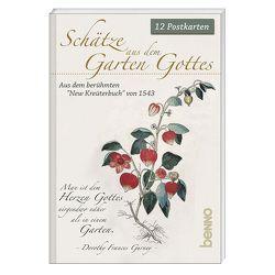 Postkartenbuch »Schätze aus dem Garten Gottes« von Fuchs,  Leonhart