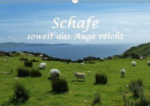 Schafe – soweit das Auge reicht (Wandkalender 2018 DIN A3 quer) von und Philipp Kellmann,  Stefanie