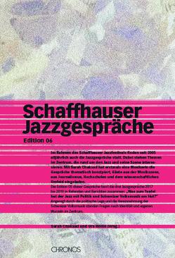 Schaffhauser Jazzgespräche von Chaksad,  Sarah, Röllin,  Urs