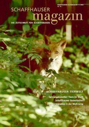 Schaffhauser Magazin 1/2014