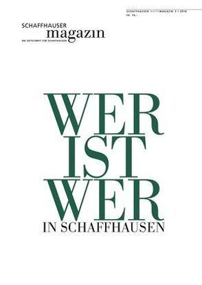 Schaffhauser Magazin 3/2014