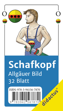 Schafkopfkarten Allgäuer Bild von Schröter,  Raphael