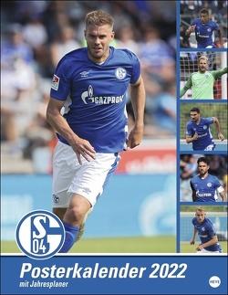 Schalke 04 Posterkalender 2022 von Heye