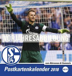 Schalke 04 Sammelkartenkalender – Kalender 2019 von Heye