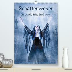 Schattenwesen – Die dunkle Seite der Magie (Premium, hochwertiger DIN A2 Wandkalender 2021, Kunstdruck in Hochglanz) von Art,  Ravienne