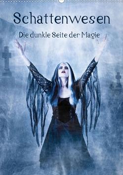 Schattenwesen – Die dunkle Seite der Magie (Wandkalender 2020 DIN A2 hoch) von Art,  Ravienne