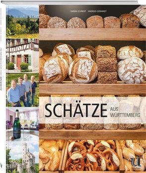 Schätze Württemberg von Gerhardt,  Andreas, Hartrumpf,  Gero, Schmidt,  Karina