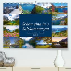 Schau eina in´s Salzkammergut (Premium, hochwertiger DIN A2 Wandkalender 2020, Kunstdruck in Hochglanz) von Kramer,  Christa