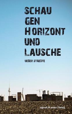Schau gen Horizont und lausche von Mayr,  Stefan, Schröder,  Nico