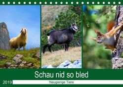 Schau nid so bled (Tischkalender 2019 DIN A5 quer) von Kramer,  Christa