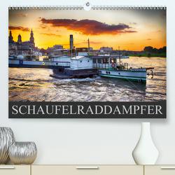 Schaufelraddampfer (Premium, hochwertiger DIN A2 Wandkalender 2020, Kunstdruck in Hochglanz) von Meutzner,  Dirk