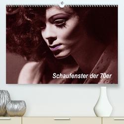 Schaufenster der 70er (Premium, hochwertiger DIN A2 Wandkalender 2020, Kunstdruck in Hochglanz) von Gödecke,  Dieter