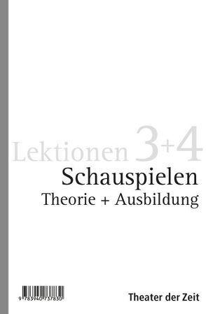 Schauspielen (Paket) von Stegemann,  Bernd