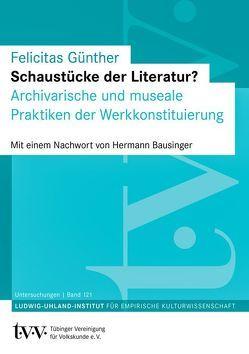 Schaustücke der Literatur? von Günther,  Felicitas