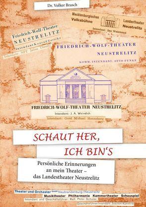 Schaut her, ich bin's von Dr. Brasch,  Volker, HW-Verlag