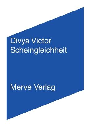 Scheingleichheit von Aue,  Karin, Schmidt,  Lena, Victor,  Divya