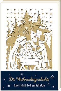 Scherenschnitt-Buch – Die Weihnachtsgeschichte von Mußenbrock,  Anne