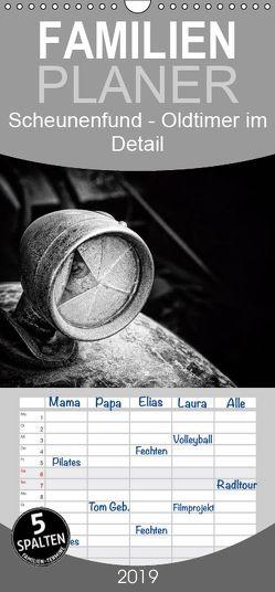 Scheunenfund Oldtimer im Detail – Familienplaner hoch (Wandkalender 2019 , 21 cm x 45 cm, hoch) von Petra Voß,  ppicture-
