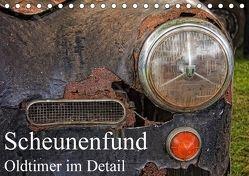 Scheunenfund – Oldtimer im Detail (Tischkalender 2018 DIN A5 quer) von Petra Voß,  ppicture-