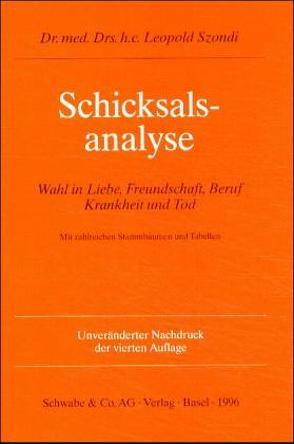 Schicksalsanalyse von Szondi,  Leopold