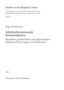 Schicksalsbestimmende Kommunikation von Christiansen,  Birgit