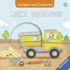Schiebe und Entdecke: Meine Fahrzeuge von Fritz,  Johanna, Grimm,  Sandra