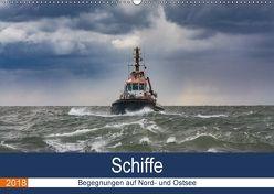 Schiffe – Begegnungen auf Nord- und Ostsee (Wandkalender 2018 DIN A2 quer) von Kantz,  Uwe