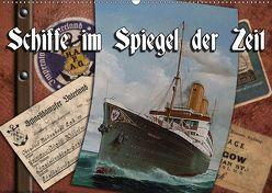 Schiffe im Spiegel ihrer Zeit (Wandkalender 2019 DIN A2 quer) von Hudak,  Hans-Stefan