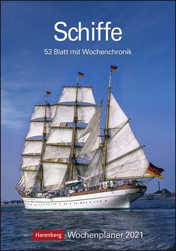 Schiffe Kalender 2021 von Harenberg