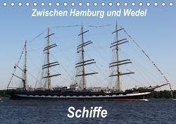 Schiffe – Zwischen Hamburg und Wedel (Tischkalender 2021 DIN A5 quer) von Springer,  Heike