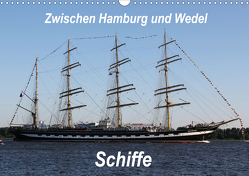 Schiffe – Zwischen Hamburg und Wedel (Wandkalender 2021 DIN A3 quer) von Springer,  Heike