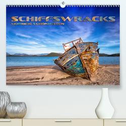 Schiffswracks – morbide Schönheiten (Premium, hochwertiger DIN A2 Wandkalender 2020, Kunstdruck in Hochglanz) von Bleicher,  Renate