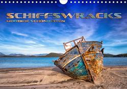 Schiffswracks – morbide Schönheiten (Wandkalender 2021 DIN A4 quer) von Bleicher,  Renate