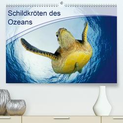 Schildkröten des Ozeans (Premium, hochwertiger DIN A2 Wandkalender 2021, Kunstdruck in Hochglanz) von Jager,  Henry