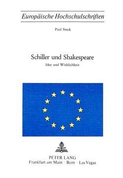 Schiller und Shakespeare von Steck,  Paul