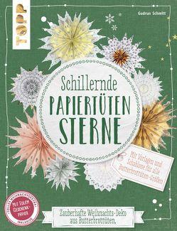 Schillernde Papiertüten-Sterne (kreativ.kompakt.) von Schmitt,  Gudrun