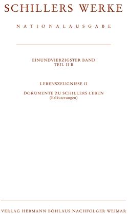 Schillers Werke. Nationalausgabe von Oellers,  Norbert