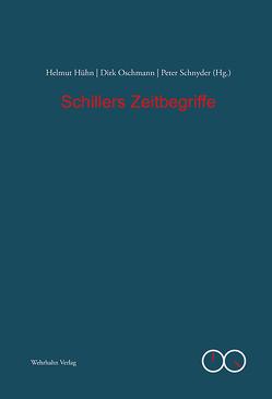 Schillers Zeitbegriffe von Hühn,  Helmut, Oschmann,  Dirk, Schnyder,  Peter