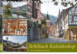 Schiltach Kaleidoskop mit Apothekenmuseum (Tischkalender 2020 DIN A5 quer) von Schmidt / www.bodo-schmidt-photography.com,  Bodo