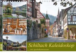 Schiltach Kaleidoskop mit Apothekenmuseum (Wandkalender 2020 DIN A4 quer) von Schmidt / www.bodo-schmidt-photography.com,  Bodo